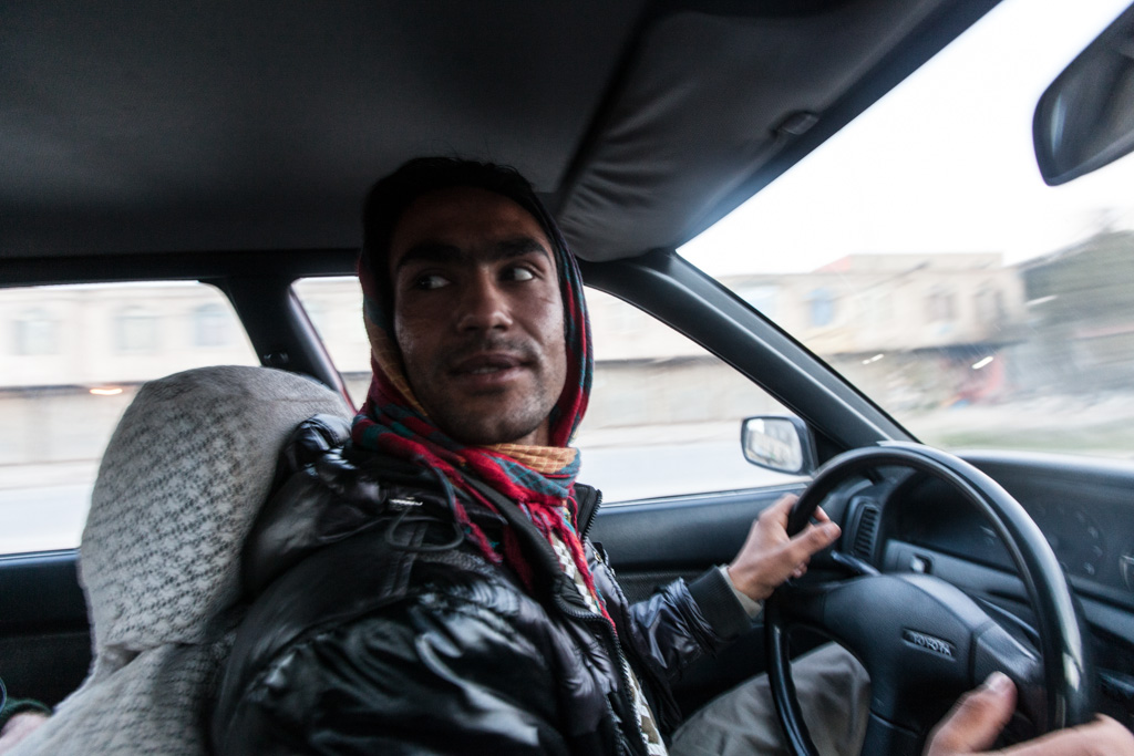 Herat: the driver