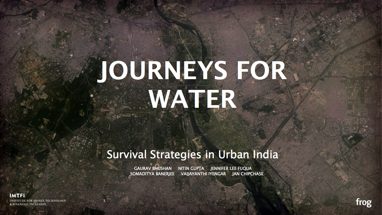 Presentation: Journey's for Water